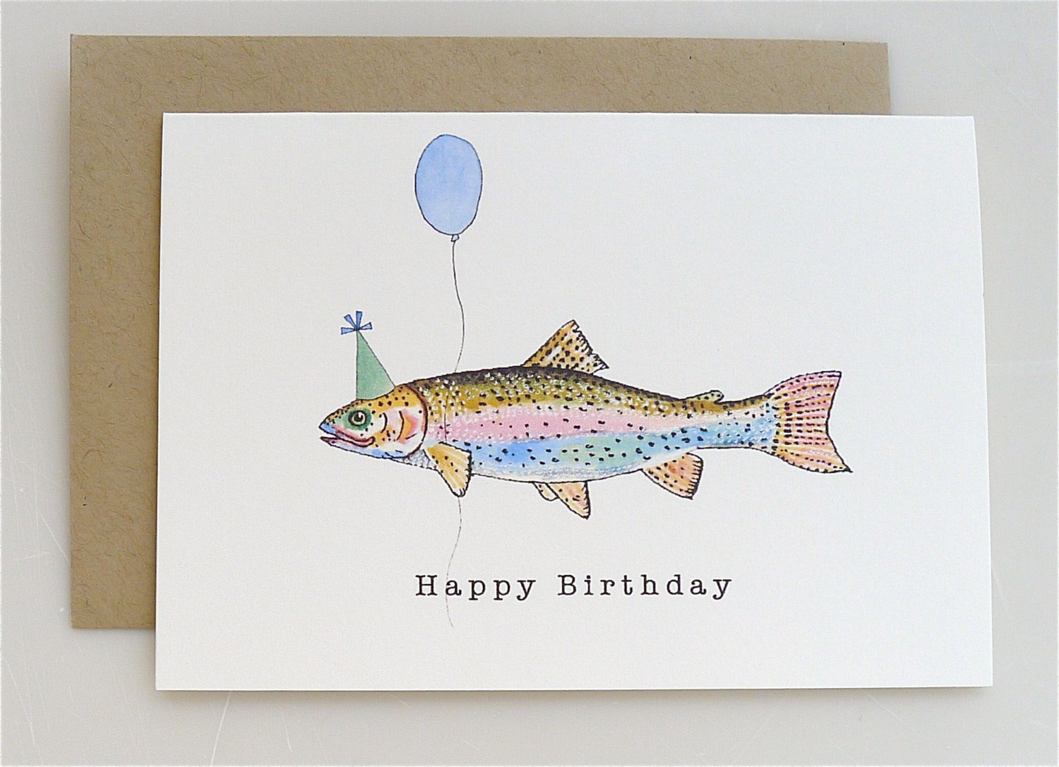 Fishing Birthday Card Gangcraft Net