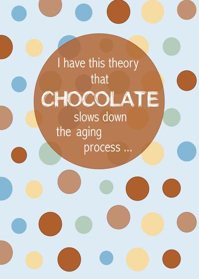 Chocolate Birthday Card By Sandra Rose Designs Handmade For Blow – Chocolate Birthday Cards