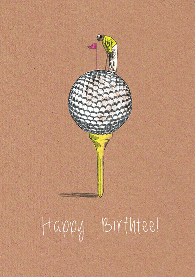 Golf Birthday Card Handmade Golf Birthday Cards – Birthday Cards Golf