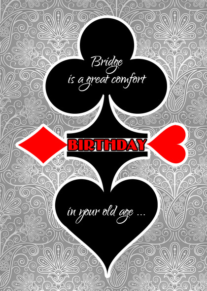 Poker Birthday Card Handmade Poker Birthday Cards – Poker Birthday Cards