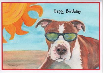 beach birthday card  handmade beach birthday cards, Birthday card